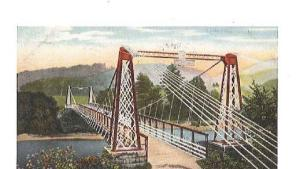 Original Chesterfield Suspension Bridge